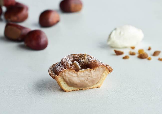 BAKE-CHEESE-TART『栗のモンブランチーズタルト』