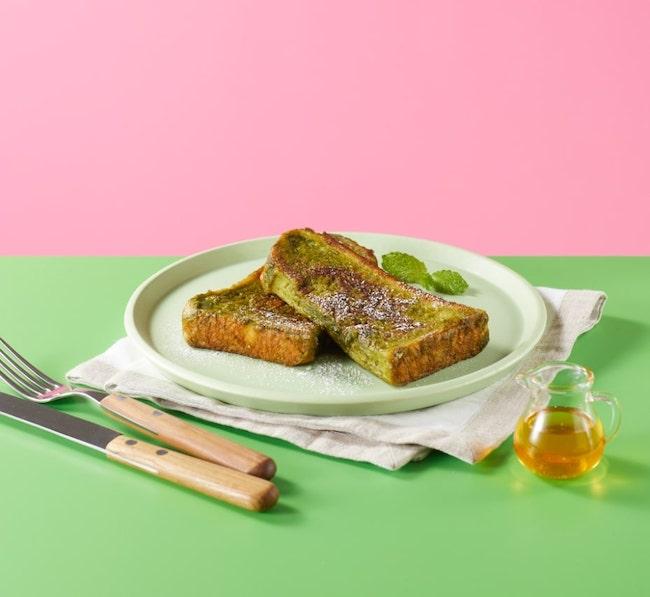 グリーンフレンチトースト
