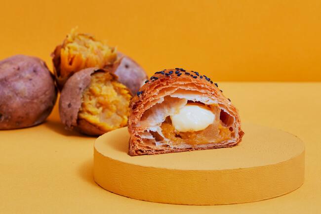『焼きたてカスタード安納芋アップルパイ』