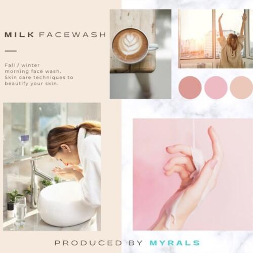 秋冬はミルク朝洗顔で乾燥知らずのもちもち肌に!美肌になれるスキンケア術